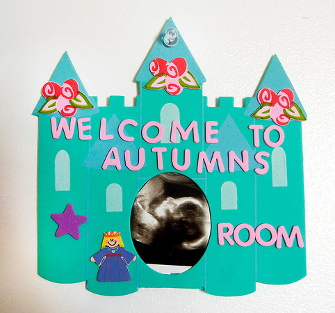John P. Cleary | The Herald Bulletin<br /> This sign is on the door to the nursery.