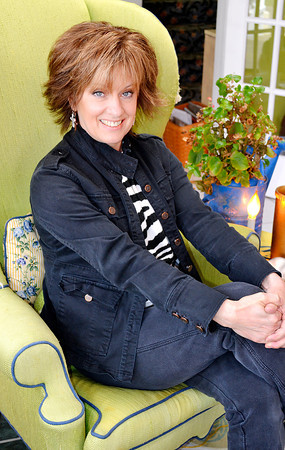 Stephanie Miles has spent the past 23 years decorating and<br /> redecorating her home in Edgewood.