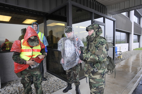 John P. Cleary | The Herald Bulletin<br />   Civil Air Patrol holds training exercises for cadets.