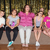 "Jason Stillwell, Myan Quinones, Sandra Jensen, Gabby Hosier, Lilly Thomas, Katy Stillwell and Tyler McCorkle rehearse ""Sing"" for the Alexandria Commons Theatre's ""Let Us Entertain You"" variety show."