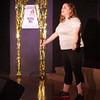 """Allison Cage sings """"Before the Parade Passes By"""" from the musical """"Hello Dolly"""" during rehearsal for the Alexandria Commons Theatre's """"Let Us Entertain You"""" variety show."""