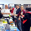 John P. Cleary | The Herald Bulletin<br /> A good crowd showed up the the Anderson Township Trustee Resource Fair held at the Geater Center Friday.