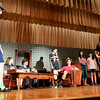 "John P. Cleary | The Herald Bulletin<br /> The White River Christian Senior Drama Troupe rehearses Wednesday for the play ""Mystery at Shady Acres"" that they will present this weekend at the Anderson city auditorium."