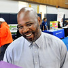 John P. Cleary | The Herald Bulletin<br /> Larry McClendon, program director and case manager for the Anderson Township Trustee office, coordinated the Resource Fair with about 30 different organizations.
