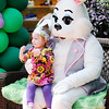 Don Knight | The Herald Bulletin<br /> Marianne Odle, 2, poses for a photo with the Easter Bunny at Mounds Mall in Anderson on Saturday. The Easter Bunny will be at the Mall today through Thursday from 5 to 8 p.m. and from Noon to 8 p.m. on Friday and Saturday.