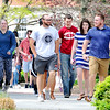 John P. Cleary    The Herald Bulletin<br /> Anderson University students walking through campus.