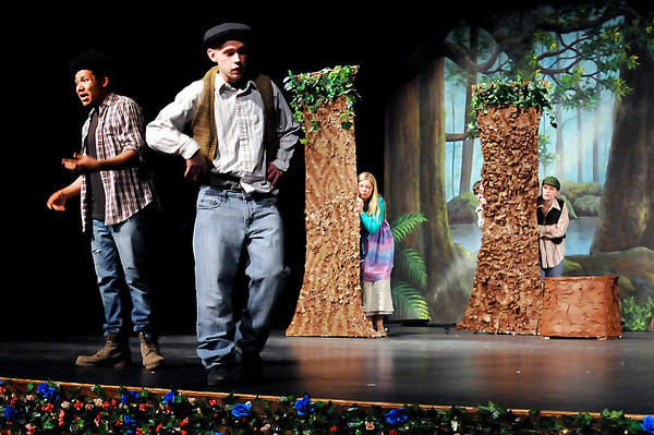 "John P. Cleary |  The Herald Bulletin<br /> Anderson High School Theatre Department's production of ""As You Like It"" by William Shakespeare."