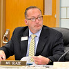 John P. Cleary |  The Herald Bulletin<br /> Asst. Superintendent Ryan Glaze at the Anderson Community Schools board meeting.