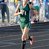 Don Knight | The Herald Bulletin<br /> Pendleton Heights Faith Baer runs in the 1600 meter during the Arabians Girls Track Invitational on Tuesday.