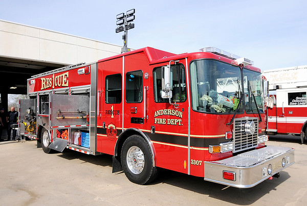 Don Knight | The Herald Bulletin<br /> The Anderson Fire Department has a new Heavy Rescue Truck as part of their new technical rescue team.