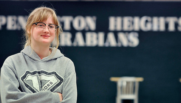John P. Cleary   The Herald Bulletin<br /> Pendleton Heights High School senior Sidney Shoaf has won the Outstanding JAG (Jobs for America's Graduates) student of the year for Indiana.