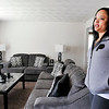 John P. Cleary | The Herald Bulletin<br /> Erika Morgan is thankful for the Tenant Based Rent Assistance program, administered by the Anderson Community Development Department, that helped her, and her eight children, move into a three-bedroom house of her own.