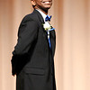 Don Knight | The Herald Bulletin<br /> William O'Neal Jr. is introduced during the Debutante Cotillion/Beautillion Militaire Program at Reardon Auditorium on Saturday.