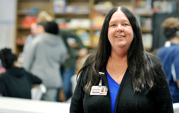 John P. Cleary | The Herald Bulletin  <br /> Ruthie Smith, a nurse at Community Hospital Anderson, spends around 60 hours a week volunteering her time with different groups and organizations in the community.