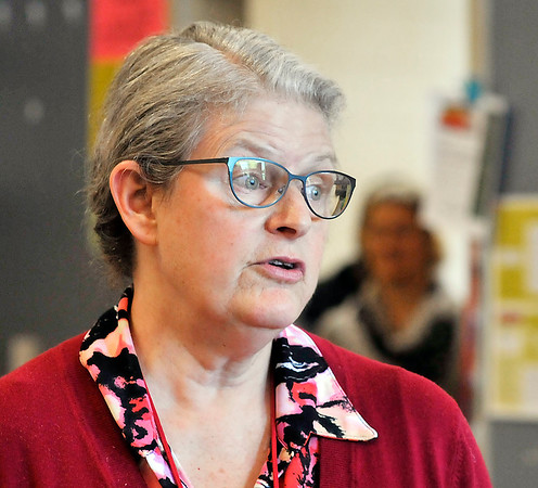 John P. Cleary | The Herald Bulletin  <br /> Anderson High School teacher Jane Sulanke says what is needed most is recognition of the need for training for special education teachers and specific skills for those who work with students with autism.