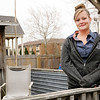 Don Knight | The Herald Bulletin<br /> Chloe Mills is in the recovery program at Grace House after getting addicted to opioids after being prescribed them by a doctor.