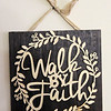 Don Knight | The Herald Bulletin<br /> Cherri Nantroup believes her faith will help her recover and walk again after she was the victim of a hit and run accident on Broadway. Her belief was reaffirmed when she moved into her room at Riverwalk Village in Noblesville and noticed this sign on the wall.