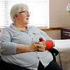 Don Knight | The Herald Bulletin<br /> Cherri Nantroup is recovering at Riverwalk Village in Noblesville after being hit by a car while walking on Broadway near Taco Bell. Employees recognized Nantroup as a regular customer and came to her aid.