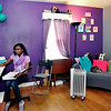 John P. Cleary | The Herald Bulletin<br /> Indiana Virtual School student Rhyann Edwards does her school work from her bedroom.