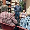 "Rebecca Bibbs | The Herald Bulletin<br /> ""To Kill a Mockingbird"" director Bill Smith talks at one of the public forums last week."
