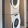 John P. Cleary | The Herald Bulletin <br /> Each of the refurbished apartments in the Tower building will have their own washer and dryer.