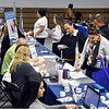 John P. Cleary | The Herald Bulletin <br /> A large number of participants, and visitors, were at the Madison County Community Connect event held at the Anderson Impact Center Wednesday.
