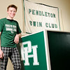 Don Knight | The Herald Bulletin<br /> The Herald Bulletin boys swimmer of the year Pendleton Heights' Cameron Kordes.