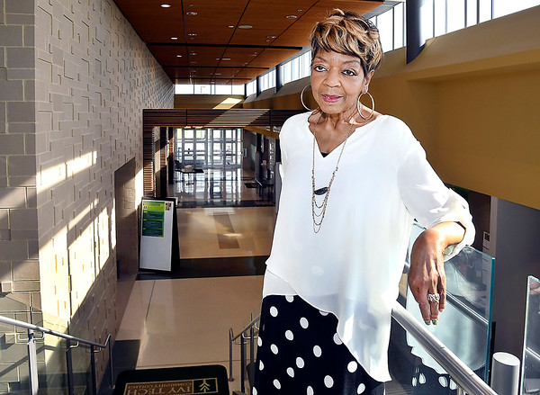 John P. Cleary   The Herald Bulletin <br /> Yvonne Corliss, 70, is now a student in the Achieve Your Degree program at Ivy Tech.