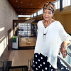 John P. Cleary | The Herald Bulletin <br /> Yvonne Corliss, 70, is now a student in the Achieve Your Degree program at Ivy Tech.