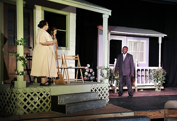 """John P. Cleary   The Herald Bulletin <br /> The Attic Theatre's production of  """"To Kill a Mockingbird"""" will be presented this weekend at the Elwood Opera House."""