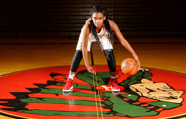 Don Knight | The Herald Bulletin Girls basketball Athlete of the Year Anderson's Tyra Ford