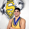 John P. Cleary | The Herald Bulletin<br /> Silas Allred of Shenandoah HS, THB's Wrestler of the Year.