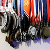 Don Knight | The Herald Bulletin<br /> Speed skater Riley Stewart, 15, from Frankton has built a large collection of metals and awards for his skating.