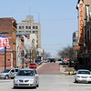 Don Knight | The Herald Bulletin<br /> The Paramount and Dickmann Town Center are on Meridian Street in Downtown Anderson.