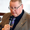 John P. Cleary | The Herald Bulletin <br /> Madison County Chamber hosts the first 2019 State of the County luncheon. Alexandria Mayor Ron Richardson addresses the luncheon.