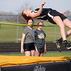 Madison-Grant's Azmae Turner won the high jump after clearing 5' as they Argylls hosted Daleville and Bluffton on Monday.