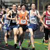 AU's Saylor Ryan, #721, keeps up in the pack during the men's 5,000 meter run during the AU Invitational Track & Field meet.