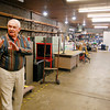 Habitat for Humanity executive director Karl Graddy looks over the 4,000 square-foot warehouse they now have at their new facility at 800 East 19th Street in Anderson.  The organization can now work to open a ReStore, which they will sell new and gently-used home improvement goods, furniture, building materials and appliances.