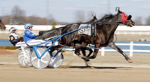 The 2013 Hoosier Park live racing season was off and running Tuesday evening with a card of 12 races and the start of 160 days of live Standardbred racing.