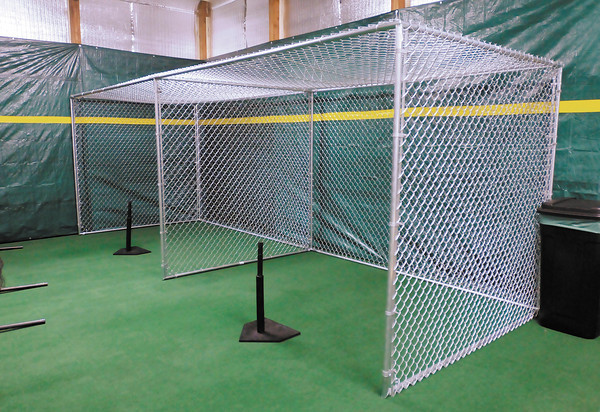Dingers Batting Cages in Anderson offers indoor practice facilities for area softball and baseball teams. To purchase this photo or other photos produced by The Herald Bulletin staff, visit heraldbulletin.smugmug.com.