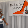 "Michael Thomas sings ""I'm A Fighter"" to kick off the Rockin' the Runway fashion show Sunday afternoon at Hoosier Park in Anderson. Rockin' the Runway was a beneit event for multiple sclerosis."