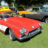 A 1960 Corvette was part of the car show during the Elwood Glass Festival on Saturday.