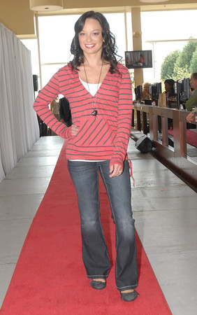 Jennifer Stephens models casual wear at Rockin' the Runway.