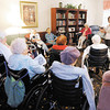 Bethany Pointe residents talk about the short memoirs they wrote that will be part of a book.