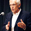 General Wesley Clark was guest speaker at POET Biorefining dinner Monday evening at the Paramount Theatre Ballroom.