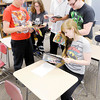 Don Knight/The Herald Bulletin<br /> Anderson High School's comic book club. From left, Jacob Rowan, Jordan Schroeder, Jesse Berryman, Dakota Jones and Sienna Hoover.