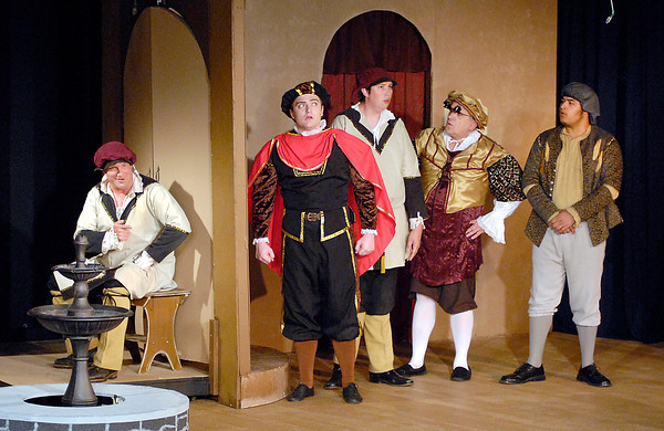 THE COMEDY OF ERRORS production at Mainstage Theatre.