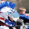 Don Knight/The Herald Bulletin<br /> Kaden Wharff, 9, of Brownsburg waits to enter the track for the Junior 1 race during the Alexandria Grand Prix on Saturday.