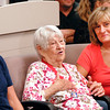 93 year old assault victim Amelia Rudolf, center, talks at a news conference Monday at Anderson Police Department with daughters Tresa Hale and Carol Fite at her side.
