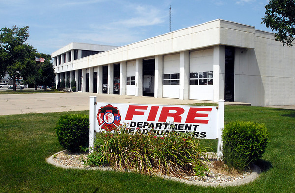 Anderson Fire Department Headquarters at 44 West 5th St.  The department would like to build a new headquarters facility to replace the present one.